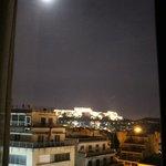 Vista da Acrópole do quarto de frente no 7o. andar
