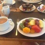 beautiful breakfast al fresco