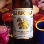 Cerveza thai.