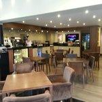 Reception/ Breakfast area