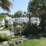 View of adjacent villa's