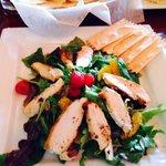 Citrus grilled chicken salad