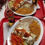 Carnitas burrito dinners. Amazing!