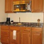 Kitchenette in Junior Suites & Studio Suites