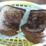 Grilled Cheese Surf Bagel