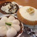 Olowalu Lime, Macnut Choc, Banana Cream