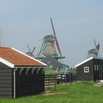 Windmills at Zannse Schans