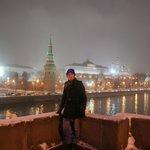 Ponte com boa vista para fotos do Kremlin
