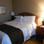 Bed in Hotel Captain Cook