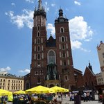 One of the famous churches of Krakow