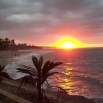 amazing sunset just minutes