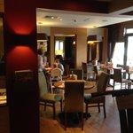 Premier Inn Rochester Dining Room