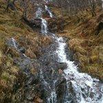 little falls near Steall Waterfall