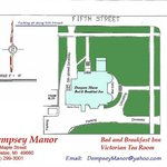 Mansion and Grounds Site Plan
