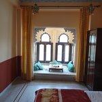 room with jharokha