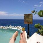 Ocean side pool - fantastic view!