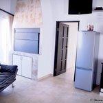 Indoor braai of Luxury 2 bedroom family unit