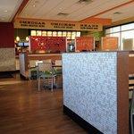 Inside Del Taco in Moore, OK.