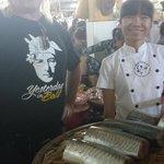 Greg & Nam at Market