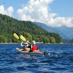 Kayaking through B.C.'s Discovery Islands