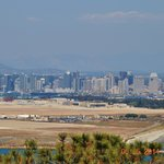 San Diego city view from Cabrillo National Monument