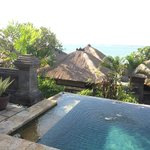 Your villas private plunge pool with ocean view