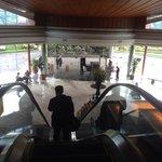 Ground floor entrance and raised lobby