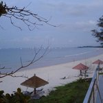 Sea view from beach restaurant