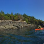 On the water near Lime Kiln State Park