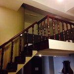 The loft inside Gordion's family room