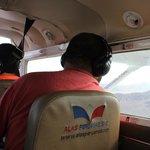 inside our Alas Peruanas plane
