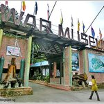 Entrance of Penang War Museum.