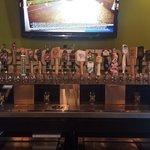 20 taps local/import/American micro brew
