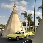 Route 66 with a perfect ending at the Wigwam