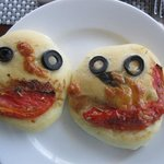 Lunch served with a smile.