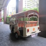 免費嘟嘟車,送客人到Sukhumvit路