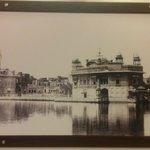 very nice Sketch of Golden Temple in hotel