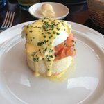 salmon and eggs