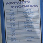 Daily Activity Programme