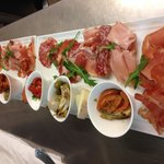 A large selection of anitipasto