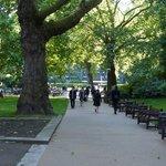 Victoria Embankment Gardens - summer
