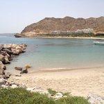 Great beach and beautiful surroundings
