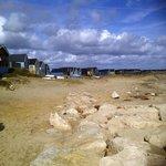 Mudeford Spit beach