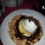 Magic chocolate ball Dessert