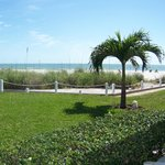 view towards beach from room 127