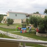 Children's play area - view from balcony
