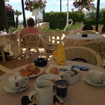 colazione in esterno