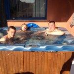 Room 14 jacuzzi hot tub