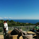Terrazza panoramica per colazione e relax