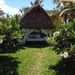 Our honeymoon gift, a day in this beautiful sun hut